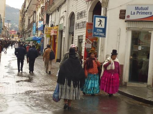 la paz. bolivie